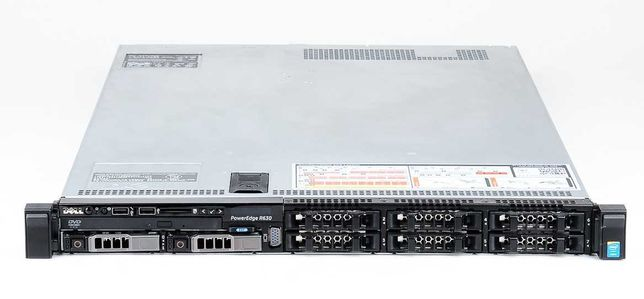 Сервер DELL Poweredge R630 2x2670v3 64Gb 2x200 SSD SAS