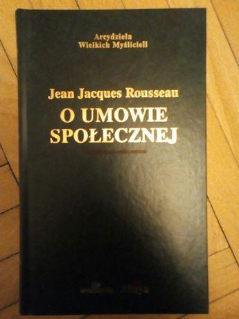 """Jean Jacques Rousseau """"O umowie społecznej"""""""