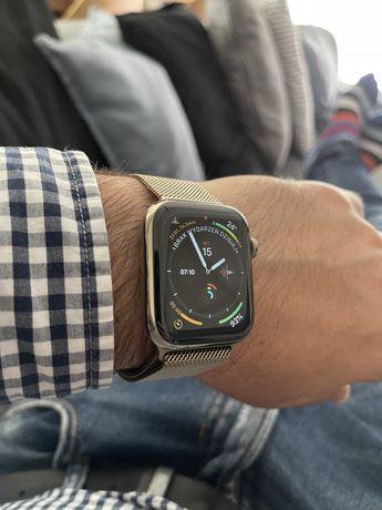 ZegarekApple Watch 6 LTE Steinless Stalowy Gold Złoty Cellular IGŁA