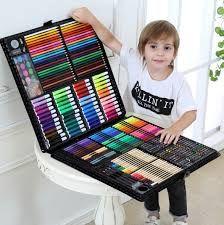 Шикарный детский набор для рисования на 150 и 258 предметов.