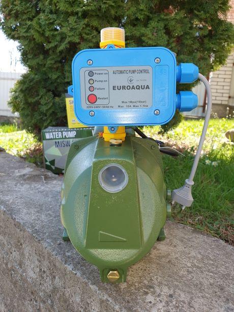 Насосная станция AUTO насос для воды,полива с пресконтролем Польская