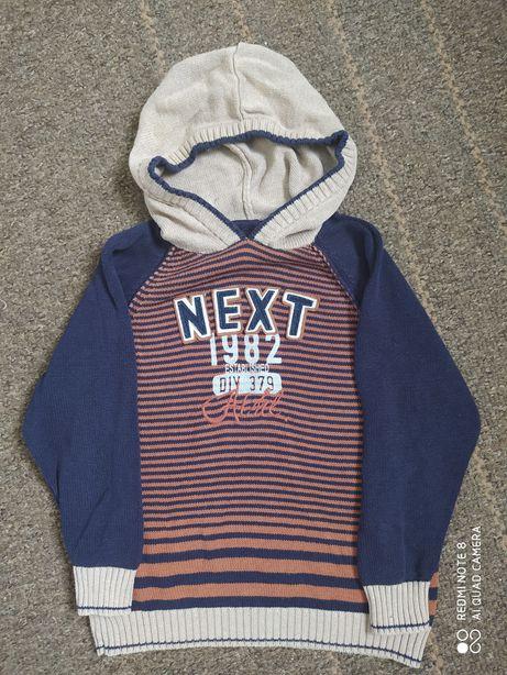 Свитер пуловер на мальчика Р.116 на 5-6лет
