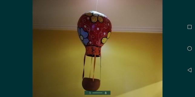 Borboleta Girafa e Balão
