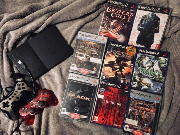 Konsola Playstation 2 Super Slim PS2 Unikatowe gry