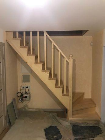 Лестницы (Сходи) деревянные. Тарсавка, село Новое, Святопетровско