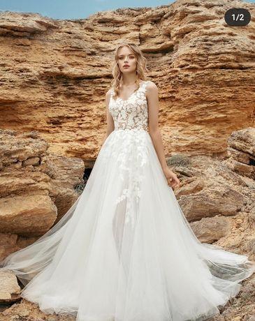 Suknia ślubna 34 36 Ivetta salon Mari-Lill kolekcja 2020