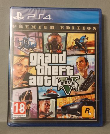 PlayStation 4! GTA V - Grand Theft Auto V : Premium Edition! PS4