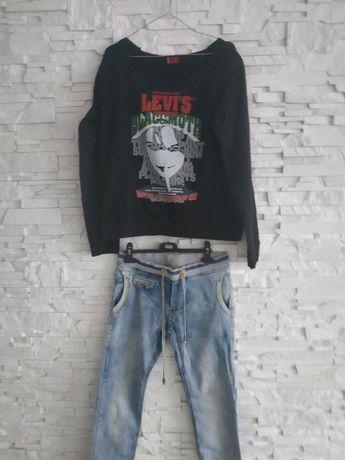 Levi's bluza +spodnie 40-42