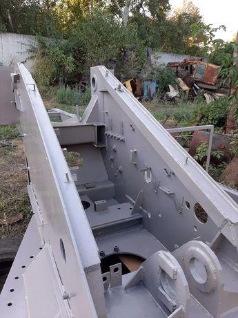 Поворотная рама- платформа КС-4574,КТА-25 и другие запчасти