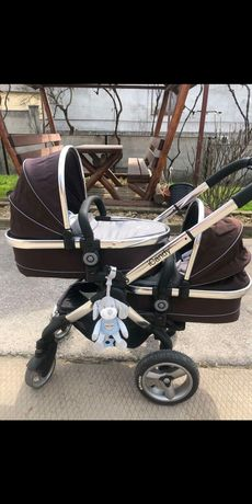 Дитячий візочок (детская коляска) iCandy Peath Twin для двійнят