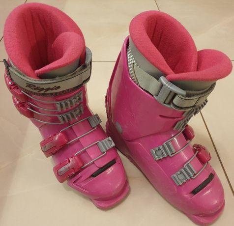 Buty narciarskie zjazdowe juniorskie dziewczęce rozmiar 23cm