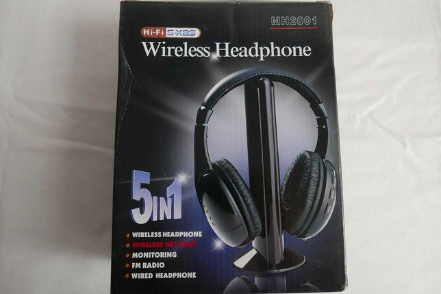 Słuchawki bezprzewodowe MH 2001