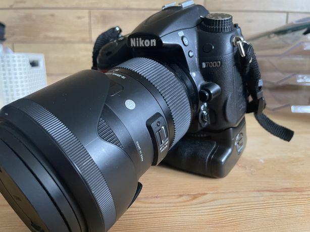 Nikon d7000 - zestaw mega
