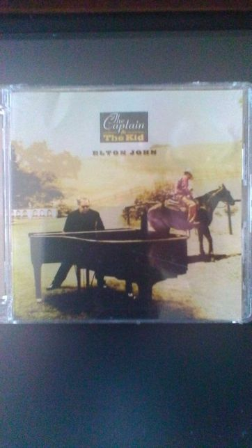ELTON JOHN--The Captain & The Kid  Cd AINDA SELADO