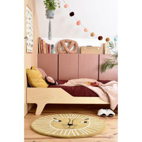 Łóżko Eco Dream ze sklejki brzozowej polskiej marki NUKI, 140x70cm lew