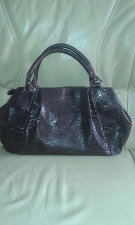 Czekoladowy brąz torba/torebka do ręki