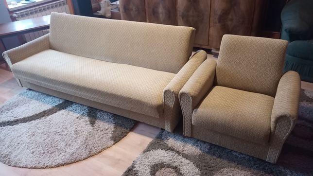 Kanapa plus dwa fotele