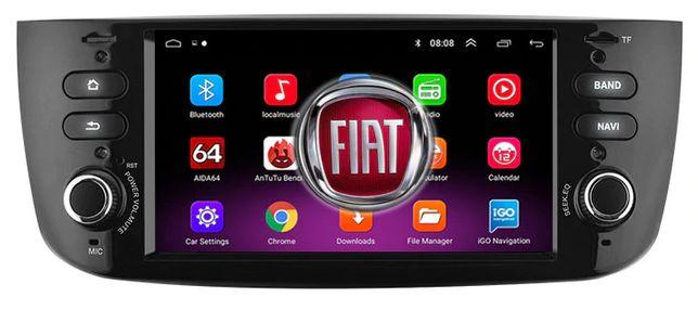 Radio NAWIGACJA Fiat Grande Punto EVO Linea ANDROID 2012=2015 BT WIFI