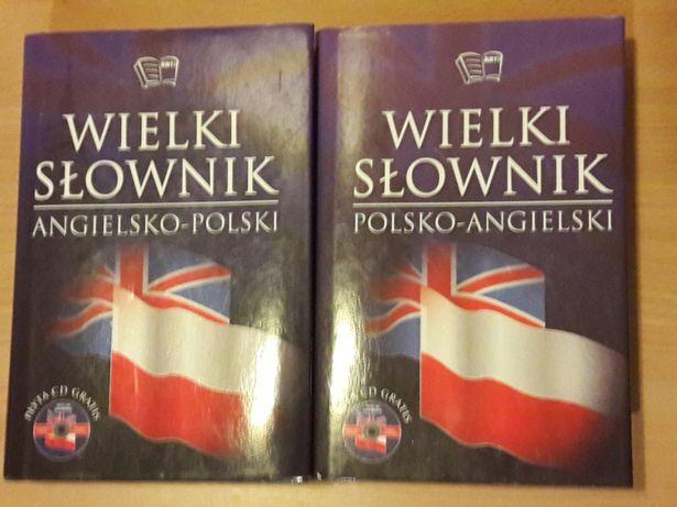 Wielki Słownik Angielsko-Polski i Polsko-Angielski! + Gratis Płyty