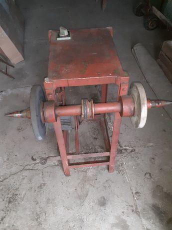 Szlifierko-polerka, rozłupywarka do drewna dwustronna