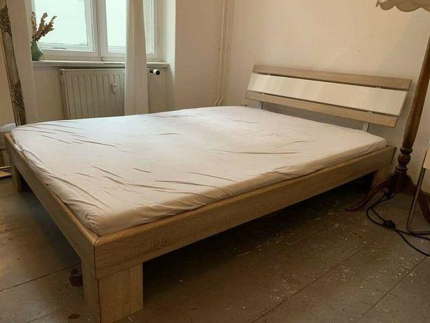 140x200 łóżko z materacem małżeńskie