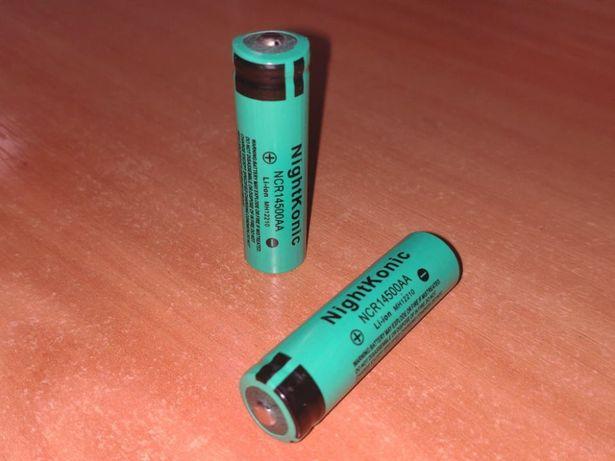 Литий-ионный аккумулятор NightKonic типоразмер 14500 напряжение 3,7В
