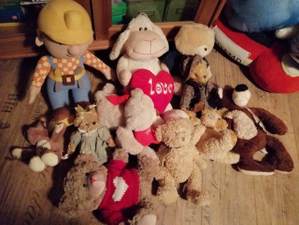 Maskotki misie zabawki retro z galerii z kukartki
