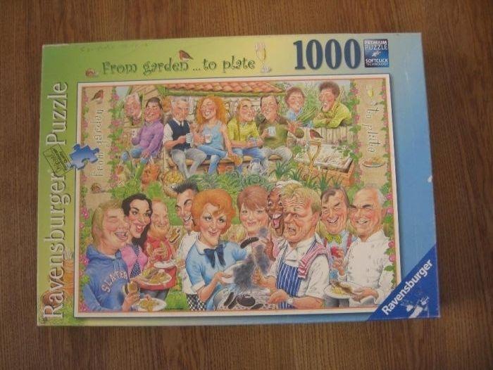 Продам паззлы Ravensburger (Германия), 1000 шт Донецк - изображение 1