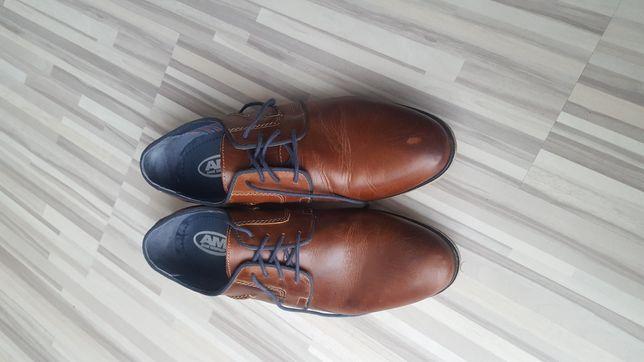 Skórzane obuwie biznesowe