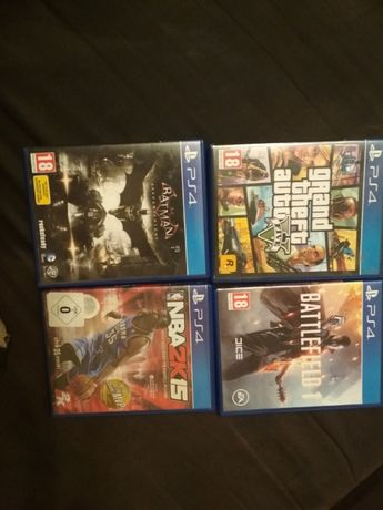 Battlefield 1, Batman Arkham Knight, NBA 2K15