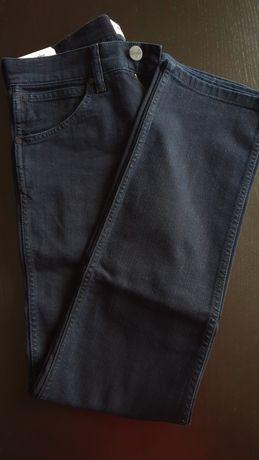 Spodnie jeansowe Wrangler jeans ciemne