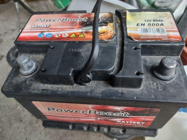 Akumulator prawy + 60Ah 500A