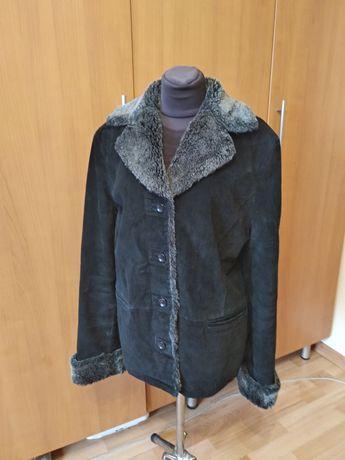Куртка замш 46 размера.