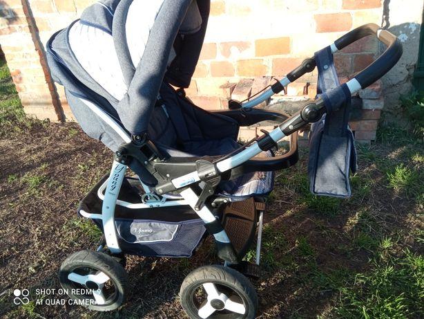 Детская коляска Коляска трансформер Adamex Young