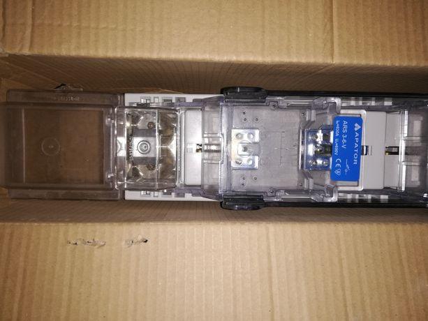 Rozłącznik bezpiecznikowy listwowy ARS 3-6-V Apator