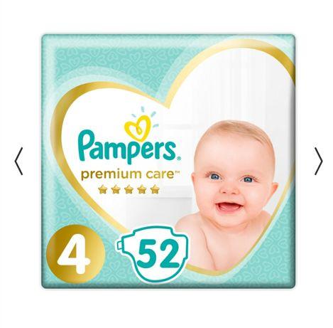 700 руб. 35 шт Подгузники 4 Pampers premium care
