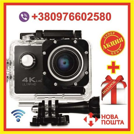 Экшн камера H16-5 Wi Fi Видеокамера Відеокамера водонепроницаемая
