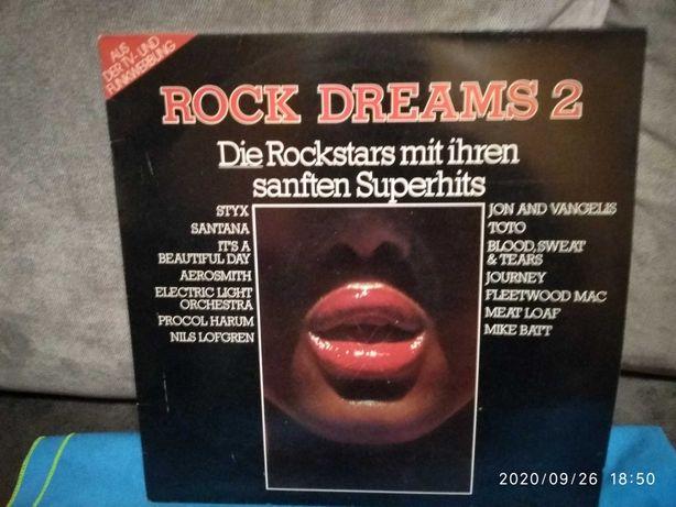 Płyta winylowa Rock Dreams 2 piosenki z lat 60,70 - Luboń