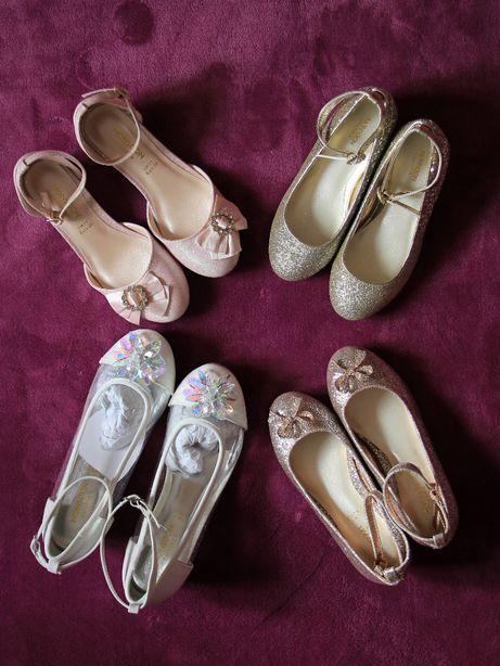 Туфельки для принцесс с каблуком и без Monsoon Англия