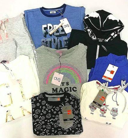 hurt CREM lato bluzki tuniki/duze rozmary odzież używana 30 szt 189 zł