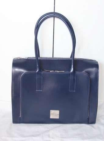 SIMPLE skorzany granatowy kuferek niebieska torebka skóra czarna