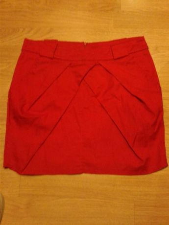 Spódniczka śliczna czerwona M
