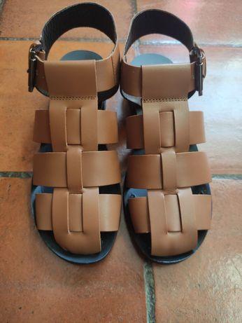 Sandálias em pele ASOS EU 38.
