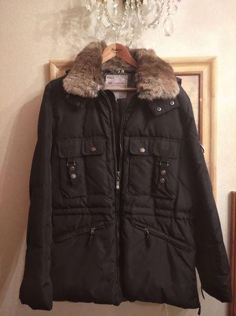Мужская зимняя куртка с мехом