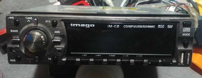 Radioodtwarzacz Imago IM-C2- CD, MP3, USB, SD, MMC, winda, RCA