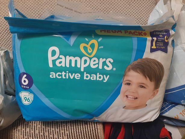 Pampers active baby 6 96sztuk