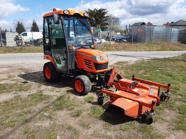 Kubota bx 2350 10 rok ciągnik ogrodniczy  komunalny 4WD kosiarka pług