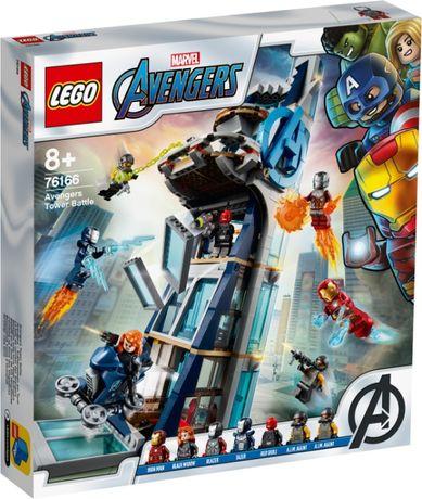 LEGO 76166 Super Heroes Marvel (Битва за башню Мстителей)