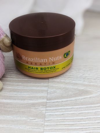 Ботокс волосся Brazilian nuts