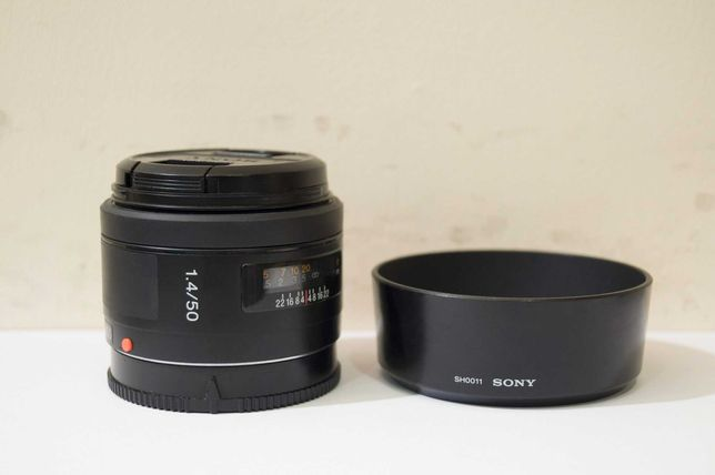 Sony 50 f/1.4 ! Идеальное состояние ! Полный комплект !